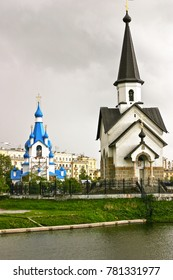 Tiny Russian Orthodox Churches in St. Petersburg