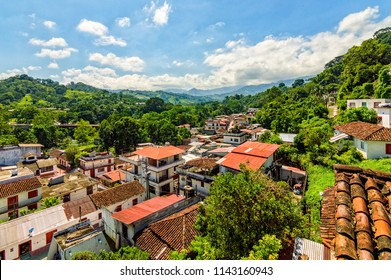 The tiny village of Tapijulapa, one of Tabasco's magic towns nestles on the mountainous border with Chiapas, hidden by the jungle.