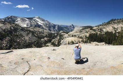 Tioga pass, Olmsted Point, Yosemite, USA