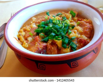 tipical food in the north of argentina. locro.