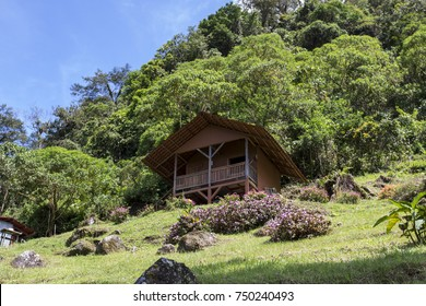 Tipical tropical house in Boquete Panama