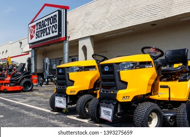 Tipton - Circa May 2019: Tractors for sale at a Tractor Supply Company Retail Location III