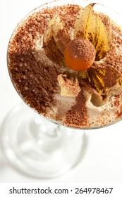 Tiramisu Dessert in a Glass