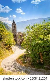 Tirano - Valtellina (IT) - Church of Santa Perpetua (6th century)