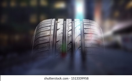 Tire rubber isolated closeup tyre car tyre car tire