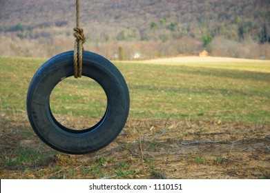Tire Swing Wide Left Shaded