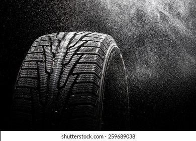 Tire, Winter, Snow.
