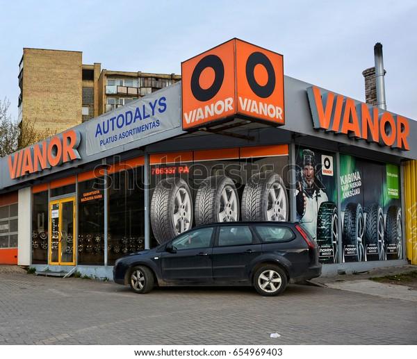 Tires Maintenance Services Company Vianor Has | Buildings