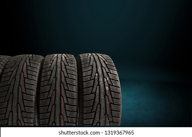 Tires objects isolated on  background