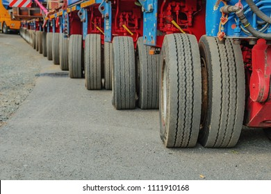 tires of a truck, lorry