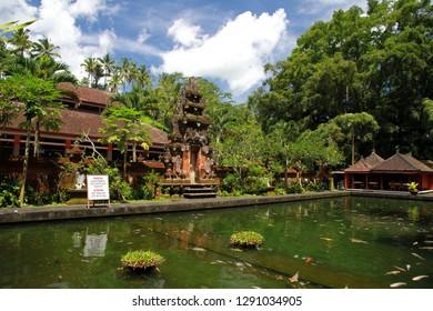 Tirta Empul temple, Pura Tirta Empul, Hindu Balinese water temple, Tampaksiring, Bali, Indonesia