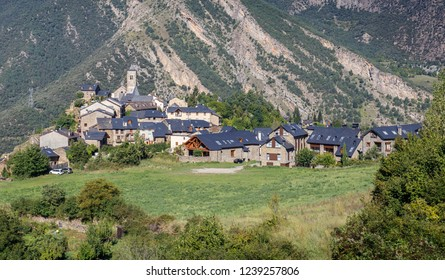Tirvia, a Small Village in the Catalan Pyrenees
