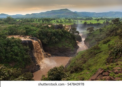 Tis Isat Falls on the Blue Nile. Ethiopia