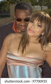 TISHA CAMPBELL MARTIN & husband DUANE MARTIN at the 9th Annual Soul Train Lady of Soul Awards in Pasadena, CA. Aug 23, 2003  Paul Smith / Featureflash