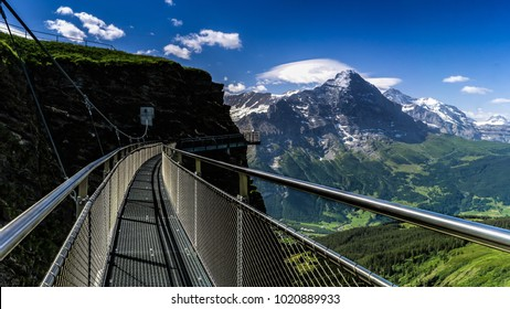 The Tissot Cliff Walk in Grindelwald-First, Switzerland