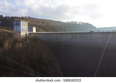 Titan RT bridge ,longest suspension bridge in Harz, Germany