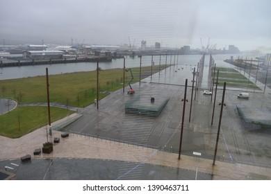 Titanic Belfast - Museum at Titanic's launch site in Belfast, Northern Ireland