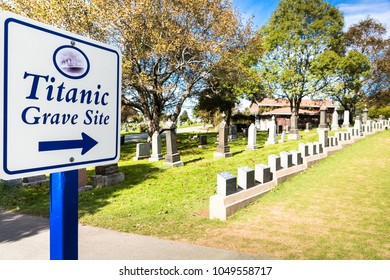 Titanic Cemetery. Place in the city of Halifax in Canada where the victims of the shipwreck were buried.