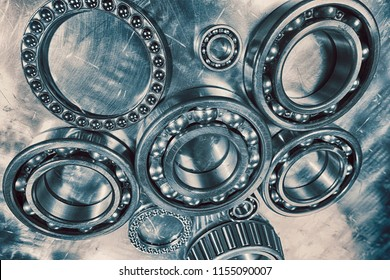 titanium ball-bearings used for the aerospace industry