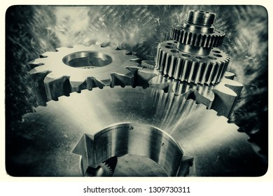 titanium cogs and gears for the aerospace industry