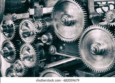 titanium and steel gears