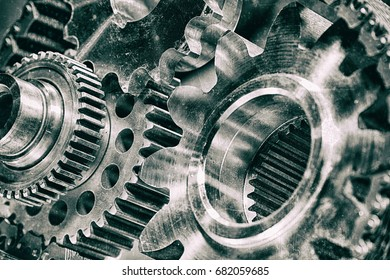 titanium and steel gears