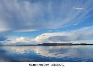 Titicaca Lake, Peru. Titicaca Lake near town Puno, Peru.