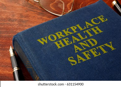 Title Workplace health and safety WHS on the book.