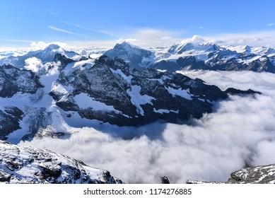 Titlis beautiful mountain Switzerland