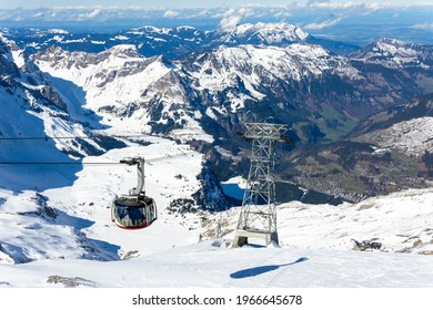 Titlis Engelberg Switzerland Alps Snow Skiing