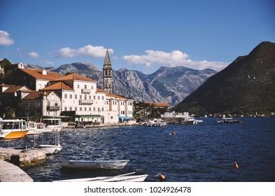 Tivat, Boka Kotorska bay, Montenegro
