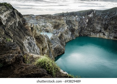 Tiwu Ata Polo, Kelimutu Crater Lakes on the island of Flores, 29 May 2017