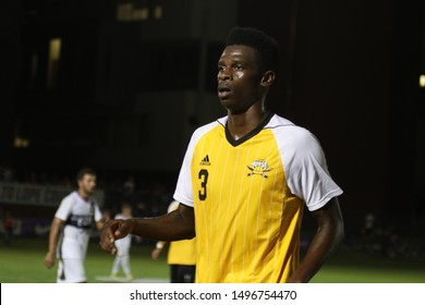 TJ Harris defender for the Northern Kentucky University Norse at GCU Stadium in Phoenix, Arizona/USA August 30,2019.