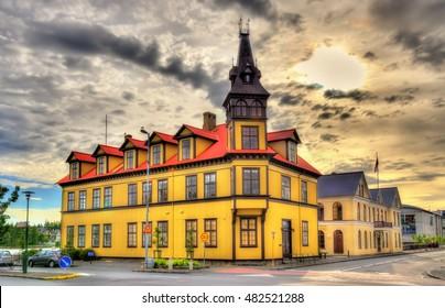 Tjarnarskoli, a school building in Reykjavik - Iceland