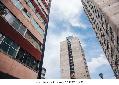 Tlatelolco Buildings in Mexico City