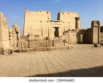 Tmple of Edfu in Egypt