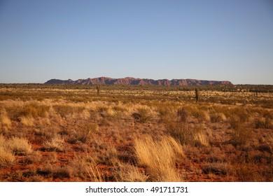 Tnorala (Gosse Bluff), a comet impact crater in Central Australia.