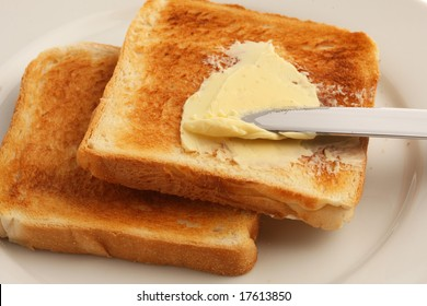 toast and butter