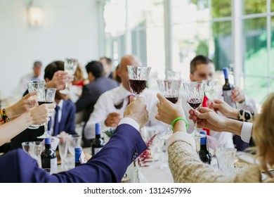 toast celebration wedding