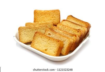 Toast, Rusk, Rusk in Tray