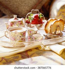 Toast and Tea, afternoon tea.