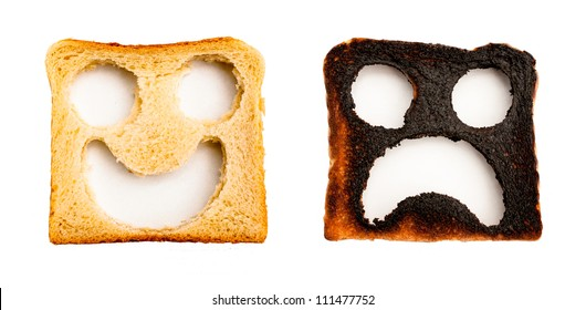 Toast Two Faces