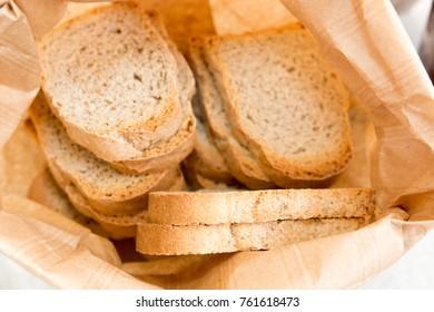 toasted bread breakfast