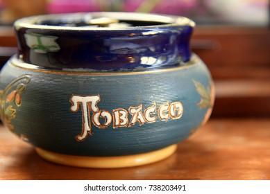 tobacco ashtray, vintage