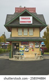 Tobacco connection cigarette house in Lexington Kentucky