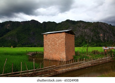 Tobacco House in Laos