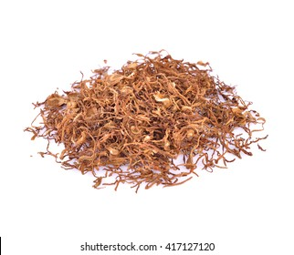 Tobacco isolated on white background