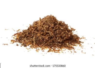 tobacco on white