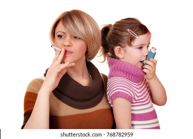 tobacco smoke causes asthma in children