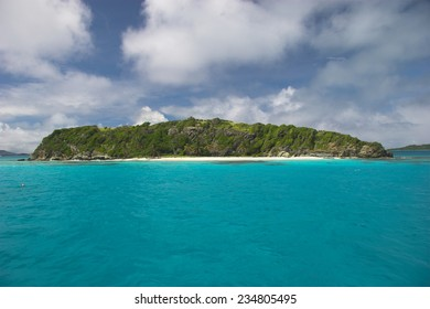 The Tobago Cays are a group of small coral islands in the Grenadines, southern Caribbean